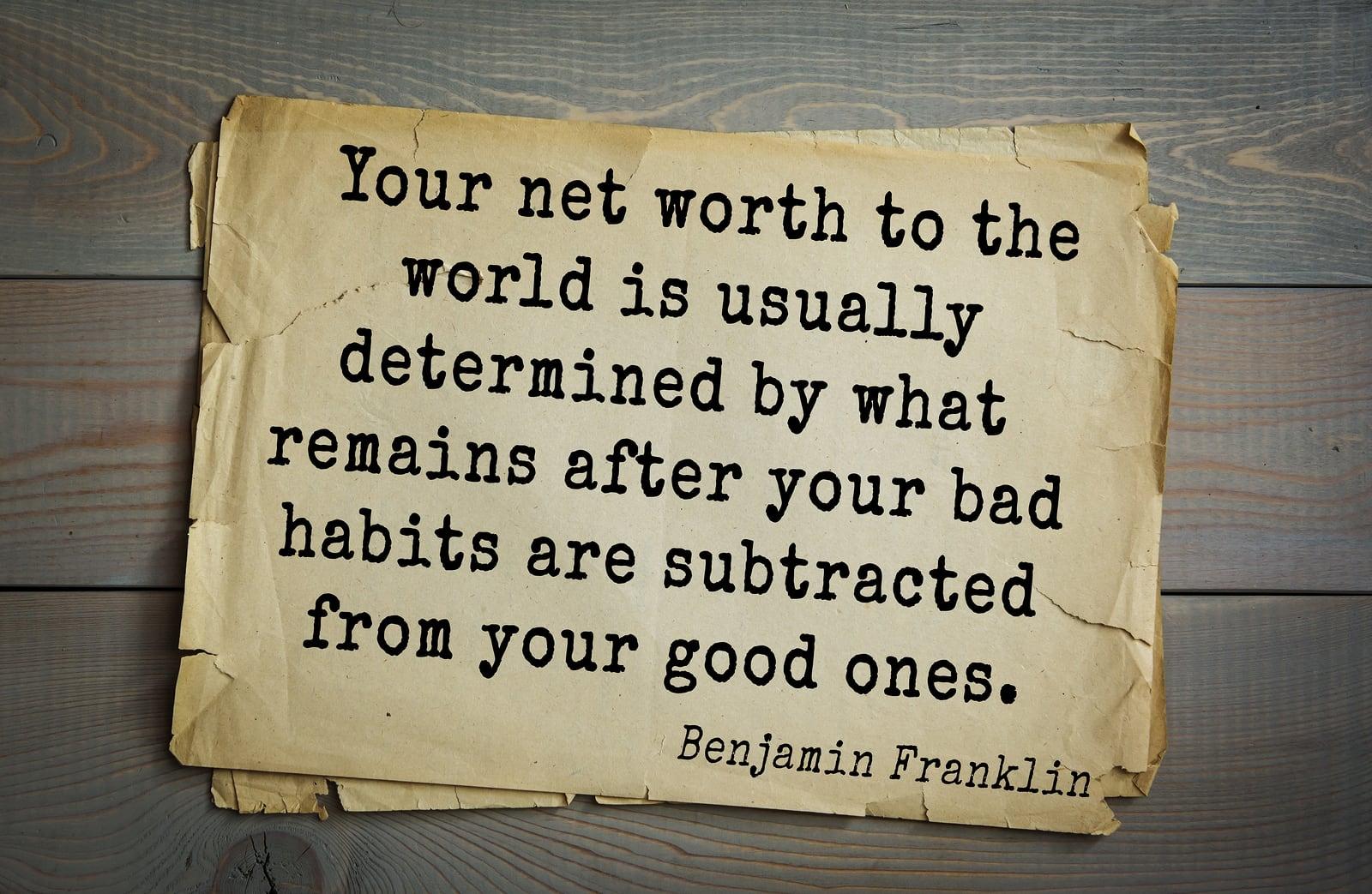 Net Worth Quote las vegas